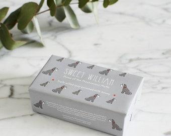 Grey Schnauzer Triple Milled Soap