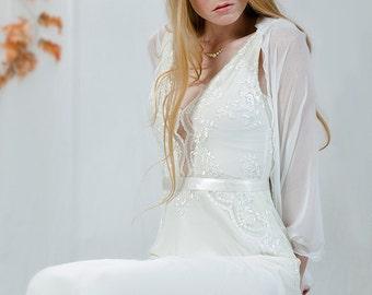 Bridal Bolero- White Bridal Sheer Shrug. Wedding White Cover Up, 4 Options Wrap- Shawl, Shrug, Twisted Shawl And Scarf. Bridal Wrap Shawl