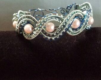 Poseidon wire bracelet