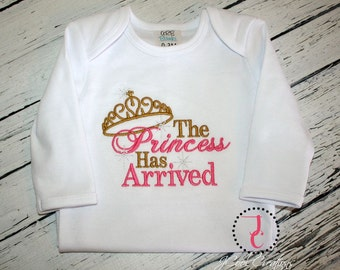 Baby Girl Coming Home Outfit - Going Home Outfit, Girl Baby Shower Gift, Infant Baby Gown, Baby Girl Clothes, Newborn Girl, Baby Layette