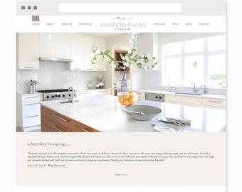 Custom Website Design - WordPress with Integrated Blog - Custom WordPress Web Design - Responsive Website - Website Level 3 Package
