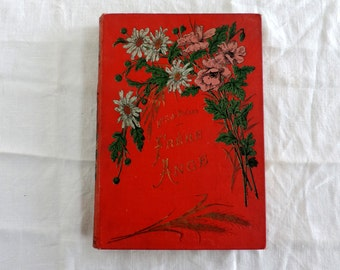 Frere Ange by Mme. La Baronne S. De Bouard antique french hardback book novel
