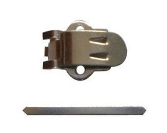 50 Paar w Metall Verbindungselemente Blank Edelstahl Metall Schuhclips