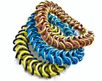 Stretchy Chainmail Bracelets