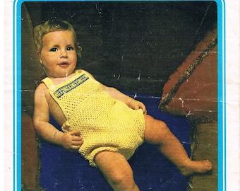 Crochet Baby Romper - Pattern by Twilley's