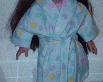 Heart robe for American Girl