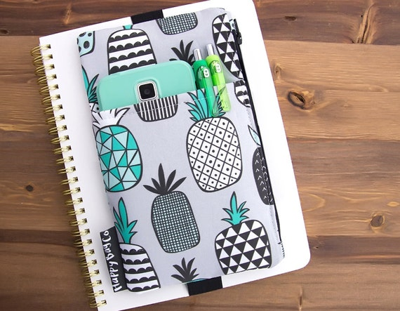 Pineapple Planner Pouch