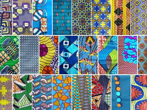 tissu africain a la reunion