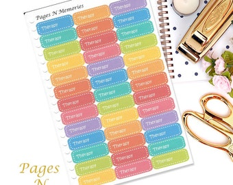 Therapy Planner Stickers/ Functional Stickers/ Erin Condren/ Inkwell Press/ Plum Paper/ Happy Planner/ Filofax/ Life Planner/ ECLP  #257