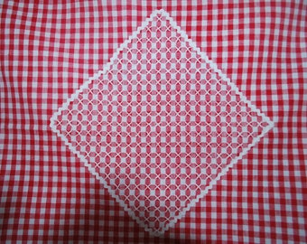 Tablecloth - Red and White Gingham