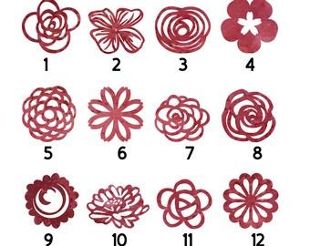 Fridge magnet, Red papercut magnet, Watercolour magnet, Watercolor, Magnet, Set of magnets, Paper cut fridge magnet, refrigerator magnet