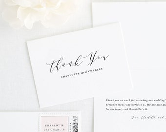 Charlotte Thank You Cards