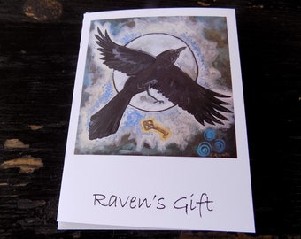 Raven's Gift - notecard