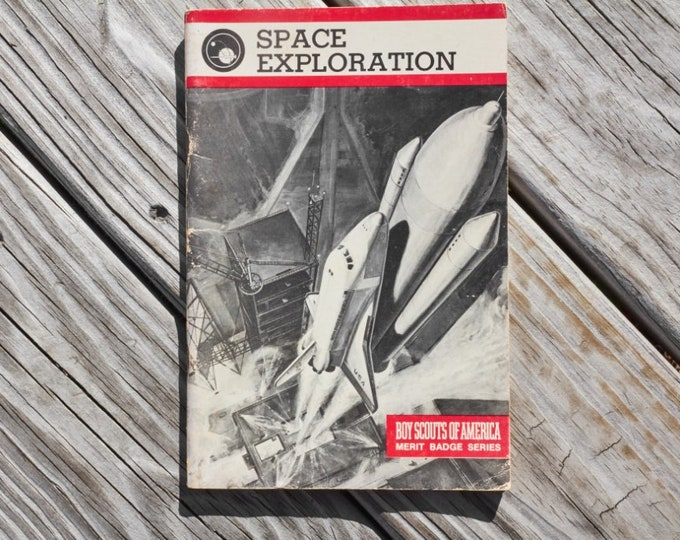 Boy Scouts of America Space Exploration Merit badge guide book