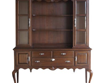Hutch / China Cabinet / Buffet With Open Hutch / Georgian Court China Hutch by Ethan Allen