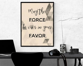 Sci-Fi & Fantasy Movie Quote Mash Up Art Print - Digital Download - Set of 2