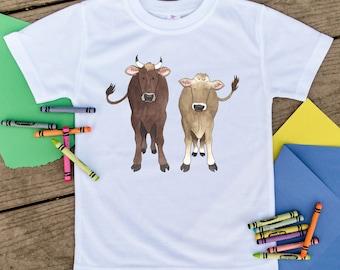 Cute toddler shirt, Unique toddler shirt, Cute kids shirt, Cow shirt, Farm shirt, Animal shirt, Farm Animal, Farm kid, Farmer