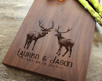 Personalized Cheese Board, Serving Board, Bread Board, Custom, Engraved, Wedding Gift, Housewarming Gift, Anniversary Gift, Engagement #40