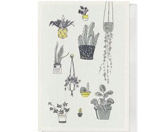 Plant Family, A6 Birthday Card
