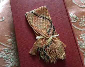 Vintage Ribbon Finding Piece for Collar or Doll Scarf