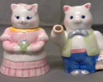 Applause Cats Cream and Sugar Set