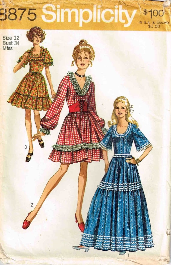 Square Dance Dress Sewing Pattern Country Western Dress