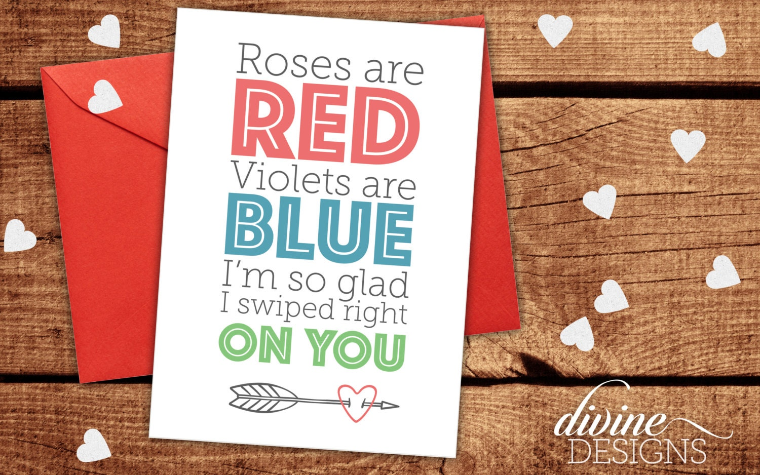 Tinder Card Funny Valentines Day Card Funny Card I