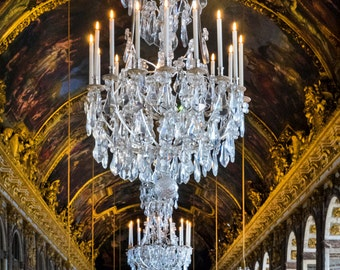 Versailles Photo Hall of Mirrors France Print Architecture Paris Decor Photograph Wall Art Home Decor par162