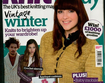 Knit Today Knitting Magazine Issue 80 December 2012