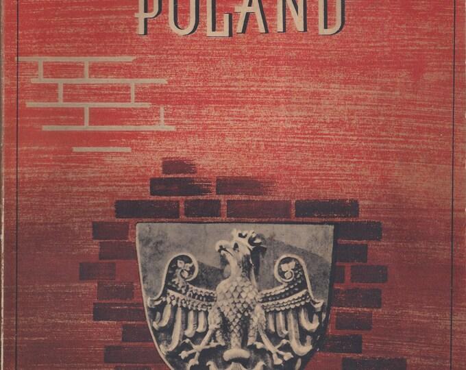 Poland by Adam Zielinski 1939 Paperback