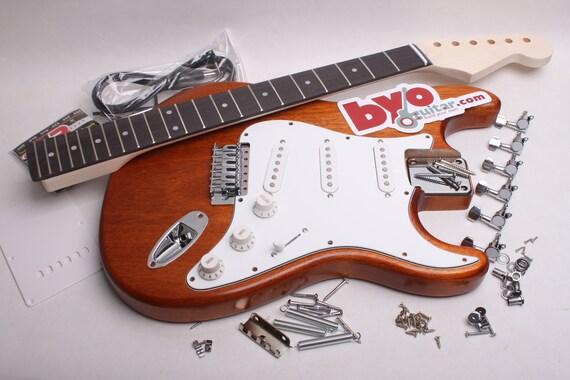 BYOGuitar fertige Stratocaster elektrische Gitarre Kits