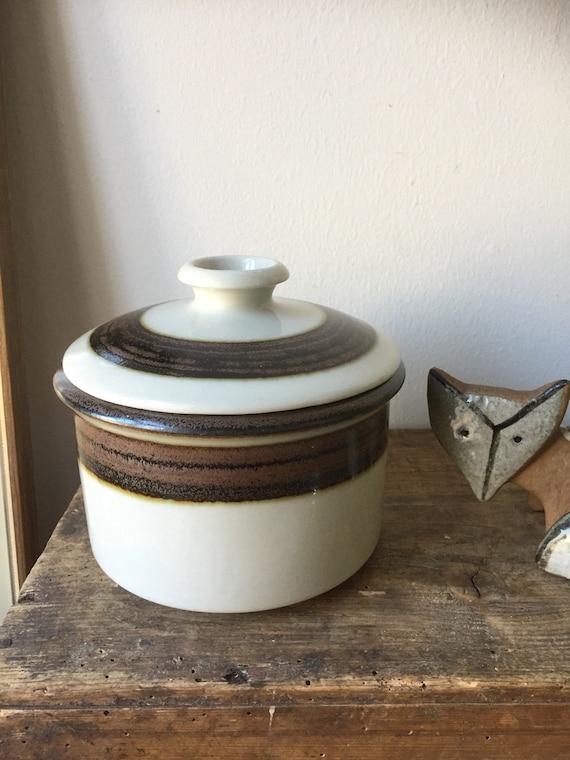 Arabia /large /vintage /karelia/ bowl/1970s/Scandinavian design/minimalist