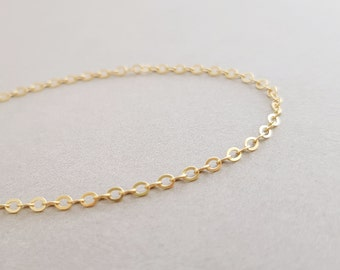 Gold Chain Bracelet initial bracelet delicate gift for mum daughter personalised mothers day gift minimalist jewellery gold chain