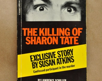 The Killing of Sharon Tate Charles Manson Paperback Book 1970 First Printing