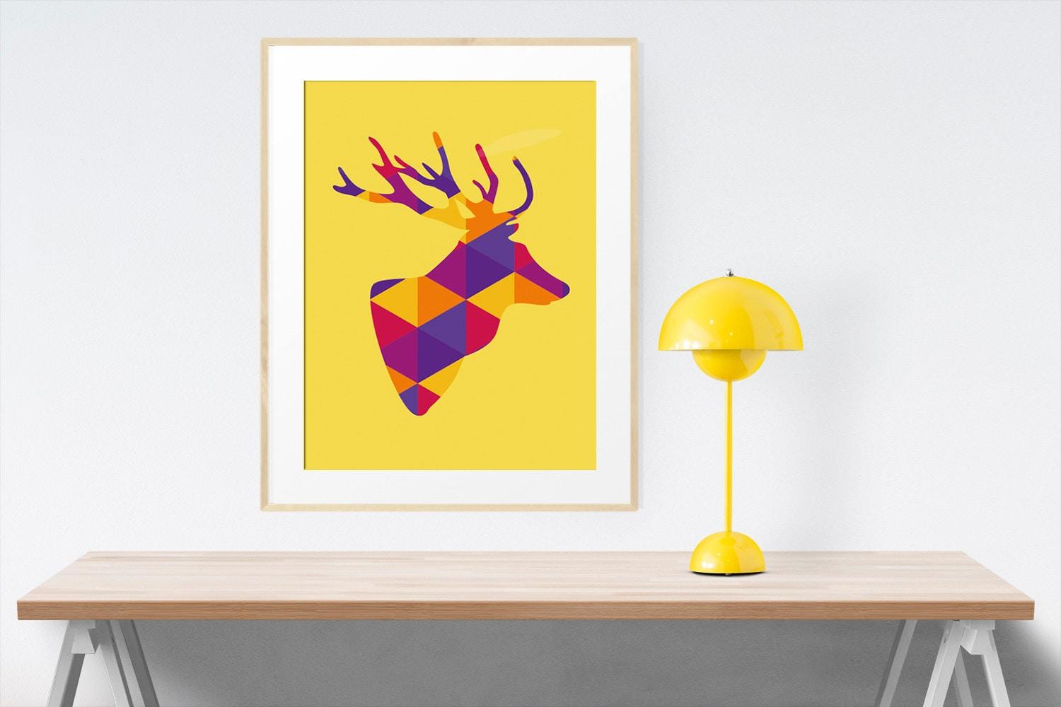 Great Deer Head Wall Art Ideas - The Wall Art Decorations ...
