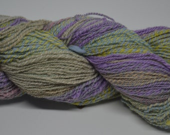 Hand spun Gradient Merino Sport Weight Yarn *seconds* with some knots
