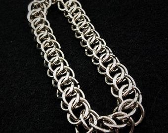 Model Persian 3 stainless steel ring bracelet Silver