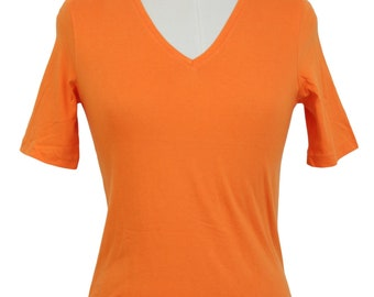 Jil Sander Vintage Orange Cotton Sweater