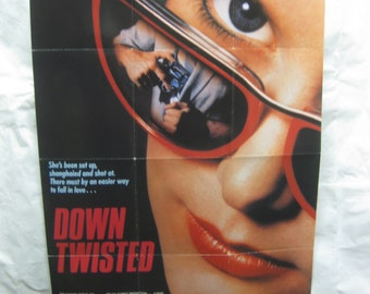 Down Twisted 1987  Movie Poster mp134