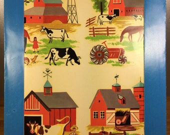 Meyercord Farm Scene Decal X133-B