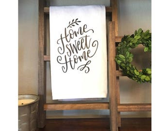 Home sweet home Tea Towel