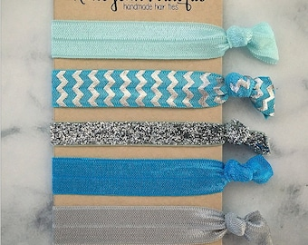 """Elastic Hair Ties - The """"Bella"""" Collection"""