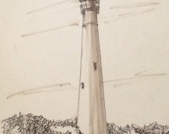 Cape May Lighthouse-PRINT ONLY