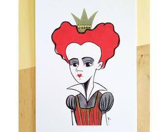 Queen of Hearts (Fanart) A5