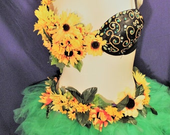 Sunflower and Sunshine Bra Top