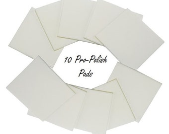 10 Pro Polish Pads for Silver, Gold, Copper