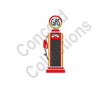 Gas Pump - Machine Embroidery Design