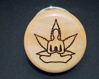 Herb Grinder - Meditating 2