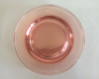Set of 5 Tiffin-Franciscan Canterbury II- Pink Luncheon Plates