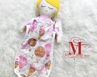 Dolly with Mini Sleeping Bag